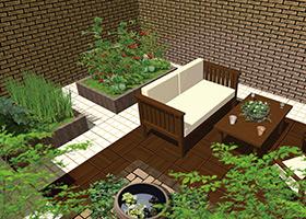 屋上緑化 ファミリープラン