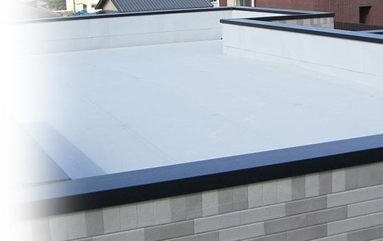 木造バルコニー・屋上にも対応した金属防水技術