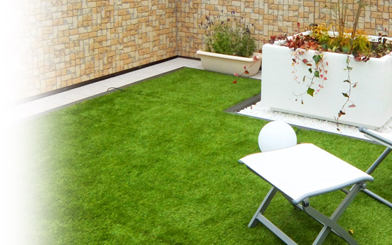 屋上緑化対応