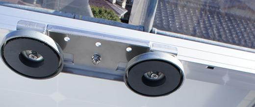 屋根に穴を開けない取り付け方法