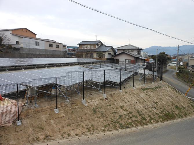 太陽光施工事例